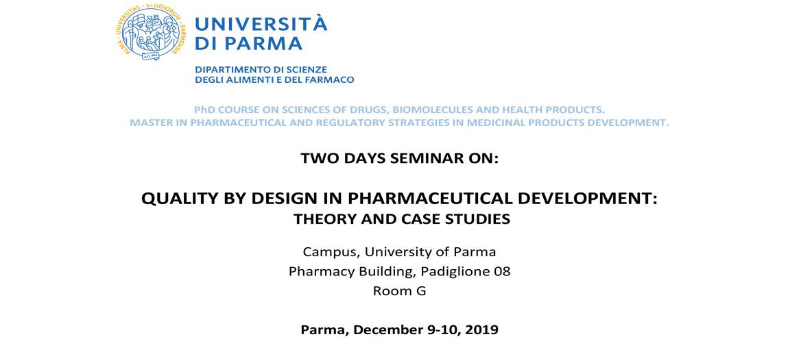 Seminar Quality By Design Pharmaceutical Development